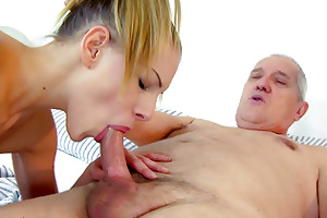 a shower with grandad