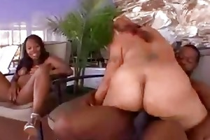mother and daughter share a penis