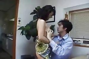 japanese mother finds schlong at home ! uncensored