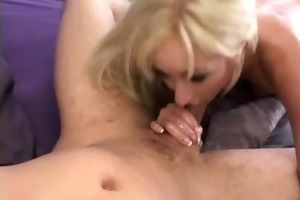 bawdy cleft licked and team-fucked