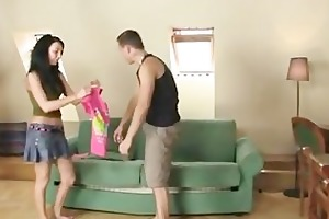 bf finds her riding his bros schlong