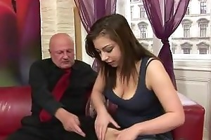 andi acquires drilled by lewd grandad
