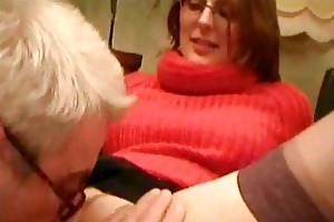 old chap having sex with his youthful nurse