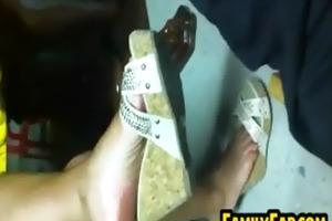step sisters nice-looking feet