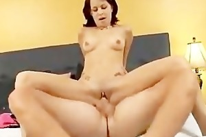 juvenile girl drilled hard in her enjoyable pussy