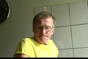 daring juvenile brunette bonks hard old man in