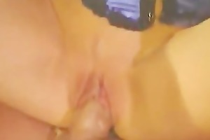 youthful daughter abased in her mouth and pussy