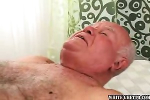 grandpapa likes ball cream pie #03