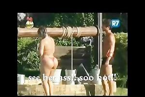 large brother bathing scene: natalia
