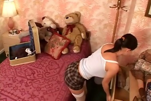 cute juvenile chick screwed in her ass and