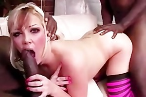 interracial candy monroe sucks pecker