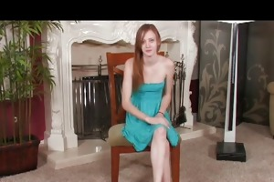 slender redhead legal age teenager enthusiastic
