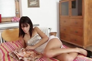 boyfriend finds his hot lady drilled