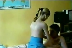 real sister catches brother pissing