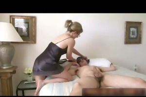 mother drilled sleeping son