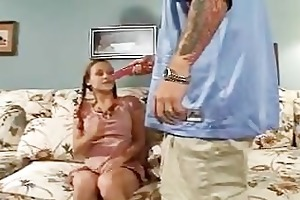 babysitter makes allies sister engulf & fuck