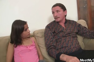 lascivious gf jumps on her bfs daddy schlong