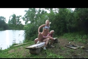 grand-dad t live without to fuck in nature