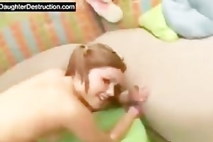 juvenile girl pounded hard by large pecker