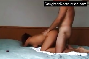 daughter roughly assfucked
