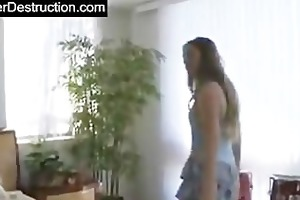 youthful beauty fucked by giant dong