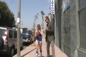 juvenile daughter screamer copulates a darksome