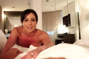 housewife kendra longing take pecker in pov style