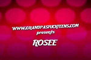 old fellow fucks rosees youthful pussy