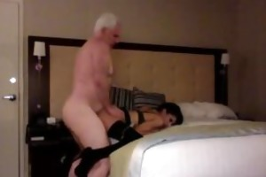 hot chub dad fuck youthful slut