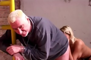 younger blondes reluctant sex with aged