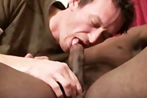 famished dilf derrick paul feasting on a large