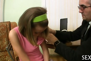 lustful teacher seducing legal age teenager
